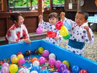 【山中温泉】昔懐かしい縁日や屋台など、お子様から大人まで楽しめる夏のイベント開催中!かがり吉祥亭