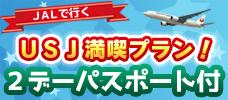 【東京発】USJパス2日券付!