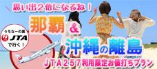 【名古屋発】JTA257便限定スペシャル