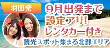 【羽田発】JALで行く!先の予約がお得!