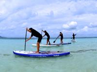 【久米島】スタンドアップパドルボード体験つき!沖縄の青い海をすーいすい!リゾートホテル久米アイランド