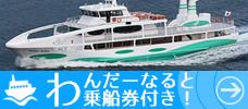 【徳島】うずしお観潮船乗船券1回付
