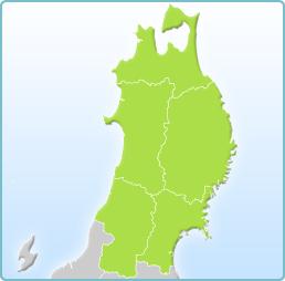 東北地方地図 東北旅行、東北国内ツアーなら オリオンツアー 国内旅行条件   会社概要・標識  