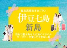 【新島協定民宿おまかせプラン】