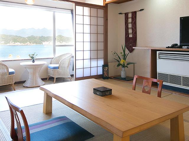 海音(10畳+広間)和室の一例