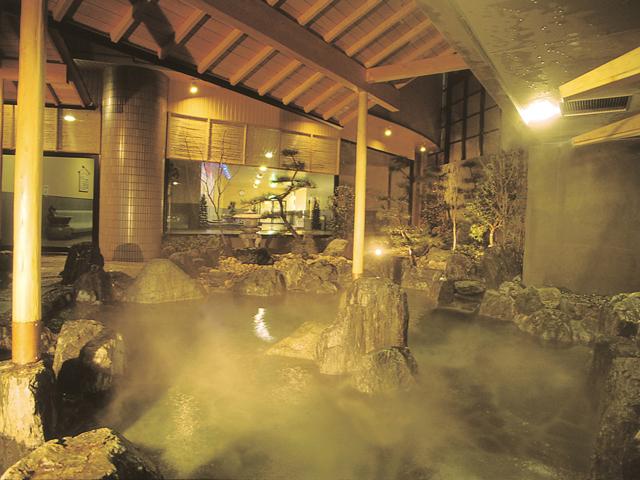 露天風呂「かぶきの湯」