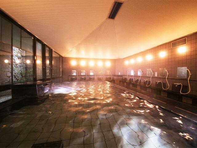 緑風間地下1階お風呂「松原の湯」