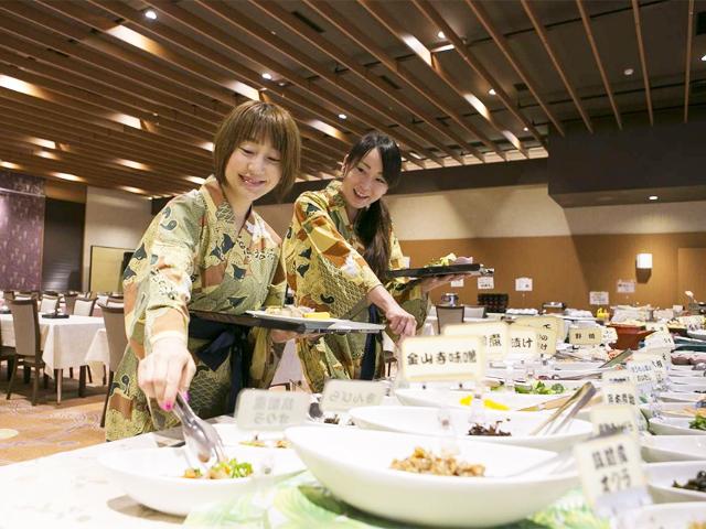 朝食:1Fコンベンションホール「花仙」