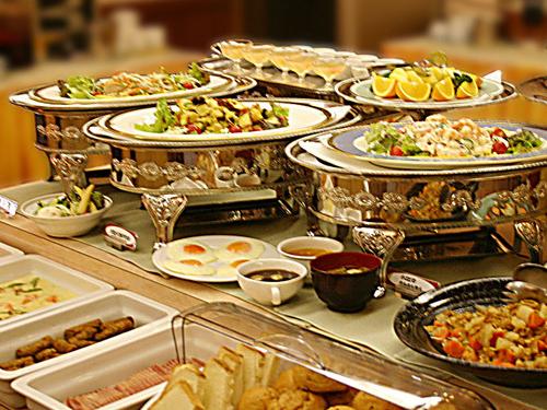 レストラン『ボンサブール』(朝食会場)