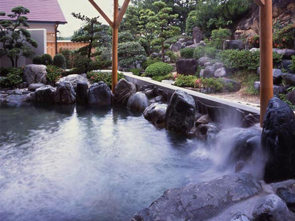 露天風呂付大浴場