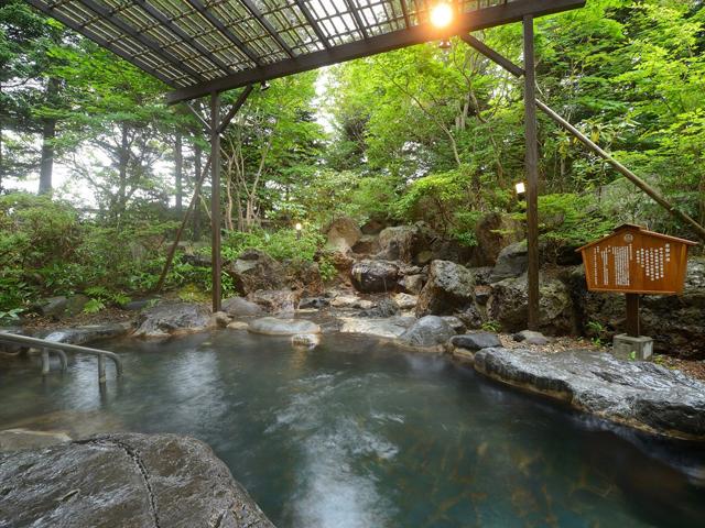 温泉大浴場・露天温泉岩風呂「鹿部温泉」
