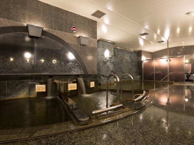 天然温泉大浴場「かぐらの湯」