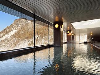 展望大浴場「黒岳」