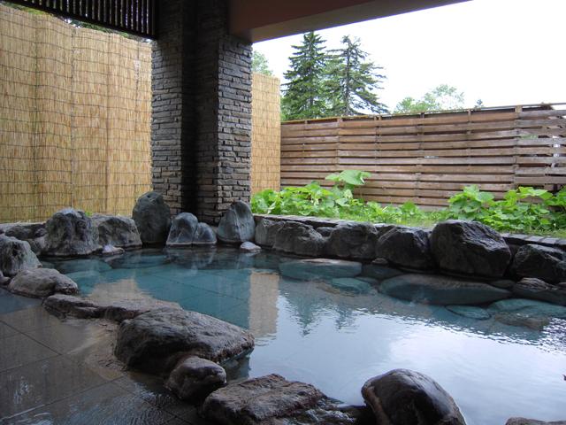 旭岳温泉「石の湯」