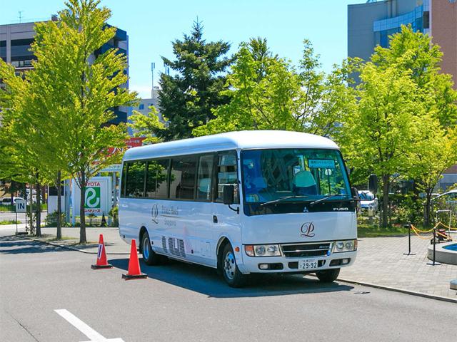 無料シャトルバス(1日9往復)