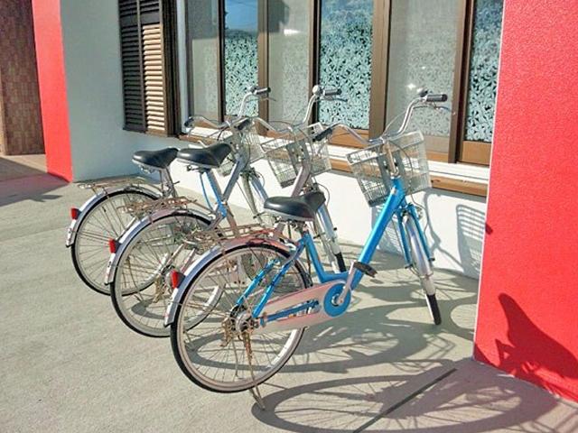 レンタル自転車無料貸出
