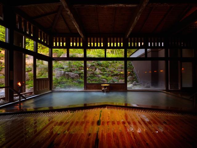 蔵王温泉(大浴場・露天風呂)