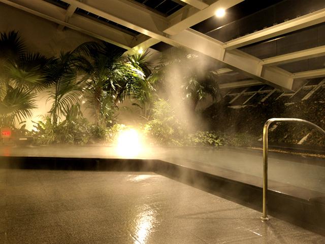 天然温泉付き大浴場「ほほえみの湯」※有料