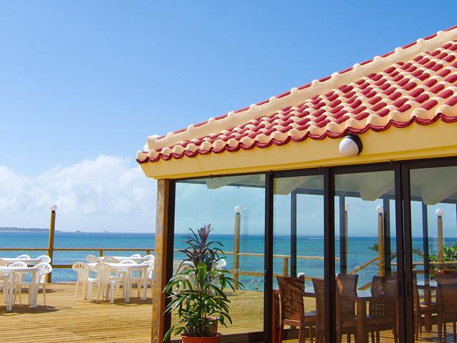オープンレストラン 海辺のテラス