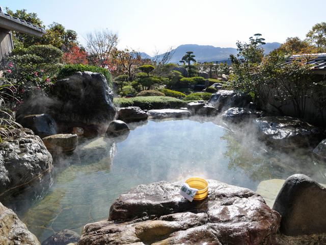 庭園露天付き大浴場