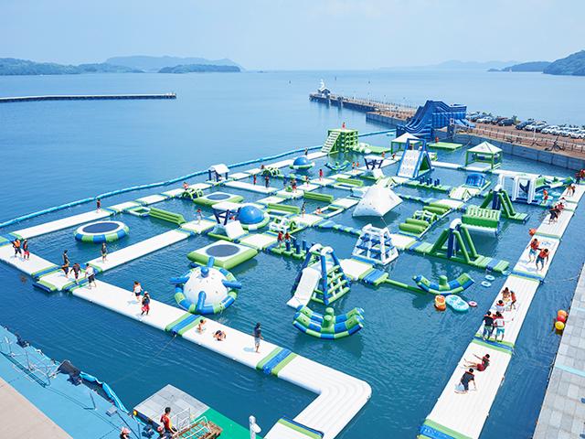 おすすめ5.夏限定イベント『水の王国』