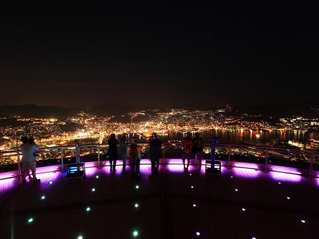 稲佐山山頂展望台