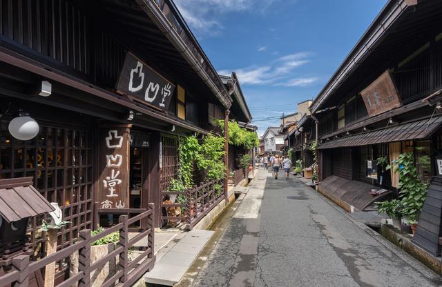 飛騨高山 古い町並(さんまち通り)