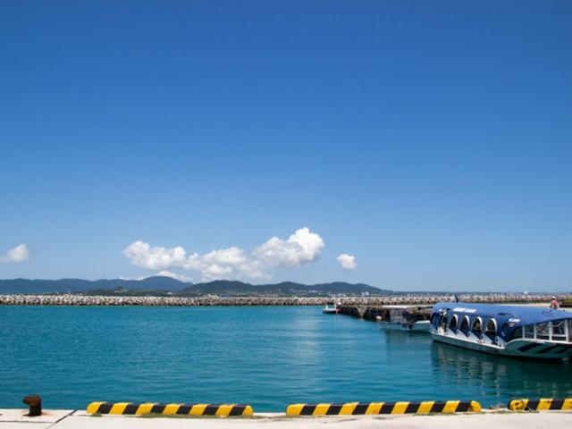 竹富島(竹富港)
