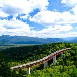 車窓に雄大な山岳風景!大雪山を横断ドライブ!旭川・層雲峡・帯広 1泊2日モデルコース