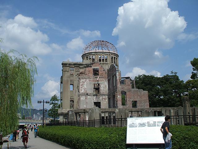 原爆ドーム(広島平和記念碑)