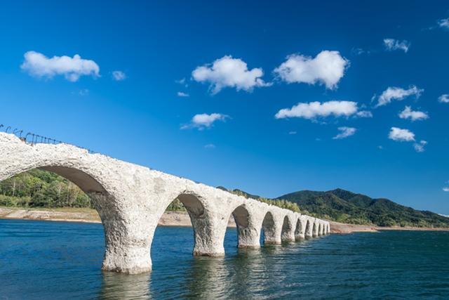 タウシュベツ川橋梁(ツアー参加)