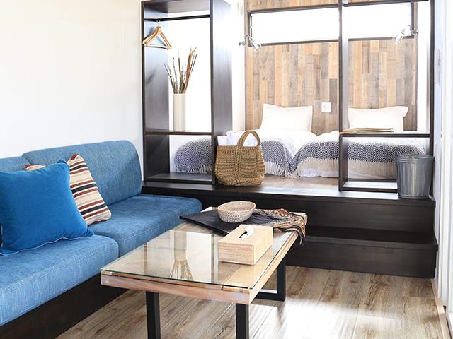 トレーラーハウス型客室
