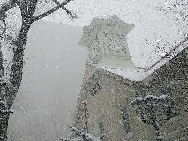 札幌市時計台と周辺散策