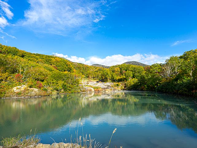 酸ヶ湯温泉周辺散策コース