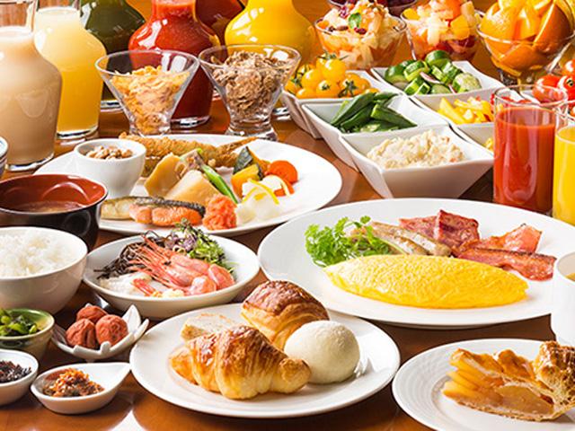 朝食のご案内(ノーザンテラスダイナー/和洋バイキング)