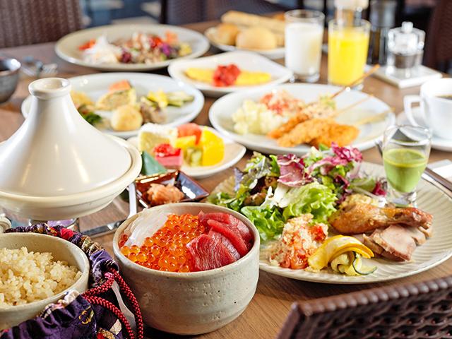 朝食レストラン『YUUYOO TERRACE HAKODATE』