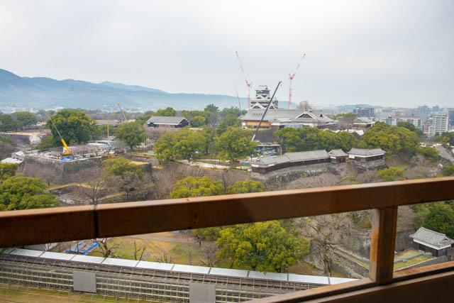 熊本市役所14階展望ロビー