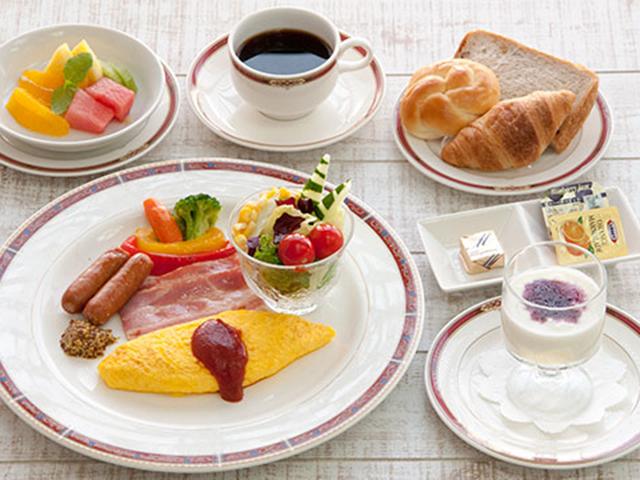 一日の始まりは美味しい朝食から
