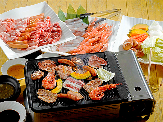 焼肉&海鮮バーベキュー食べ放題
